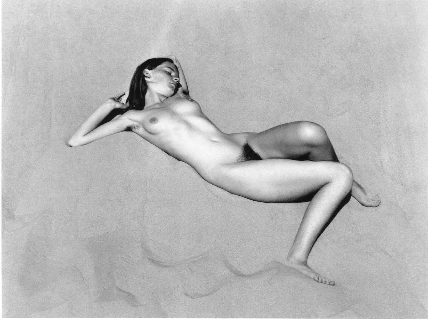 Edward Weston, Nude. Oceano 1936