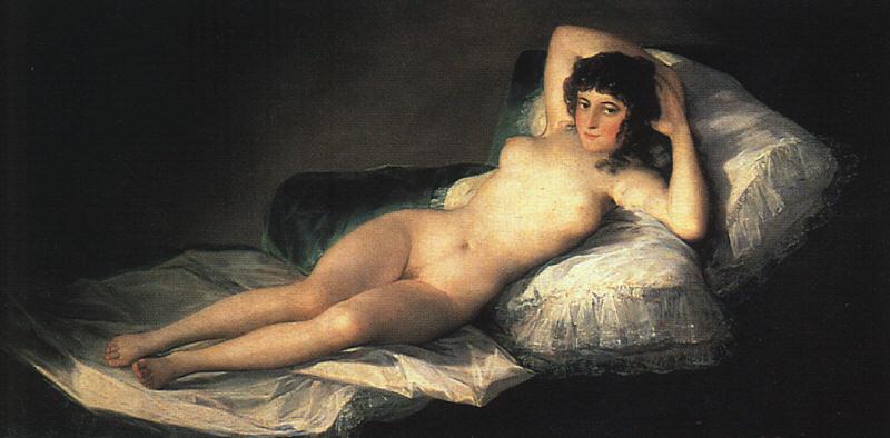 Francisco Goya, La maja desnuda, c.a 1795