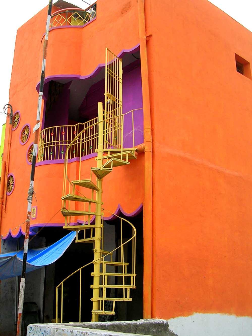 La casa arancione