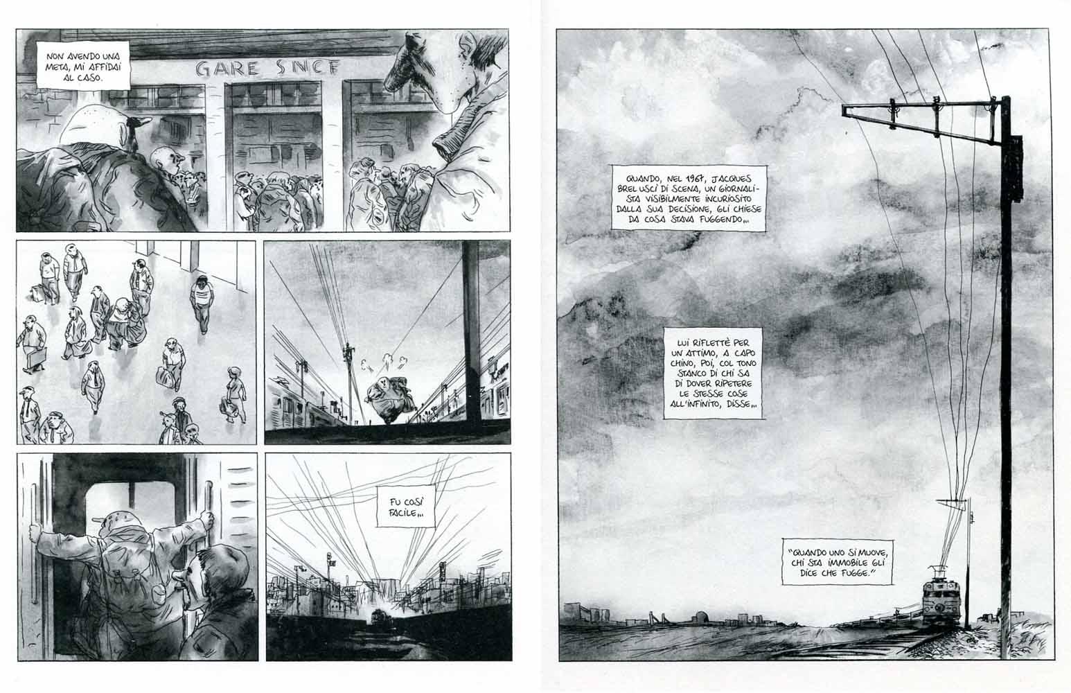 "Manu Larcenet, ""Blast"" vol.1, Coconino Press 2012, pp.92-93"