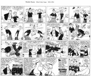 """Segar, """"Popeye"""",1934"""