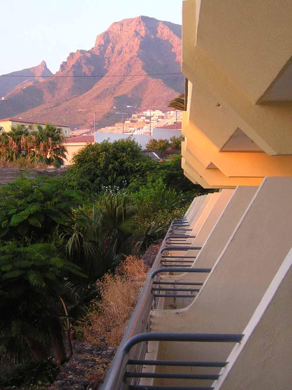 Balconi e montagne