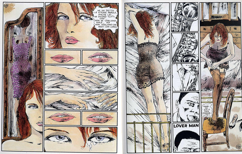"Guido Crepax, ""L'uomo di Harlem"", 1979"