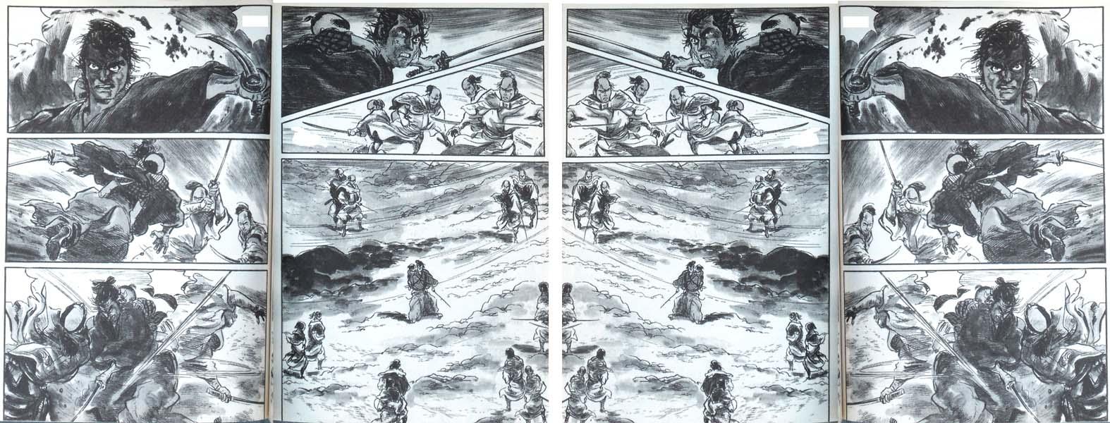 Kazuo Koike e Goseki Kojima, Kozure Okami / Lone Wolf and Cub