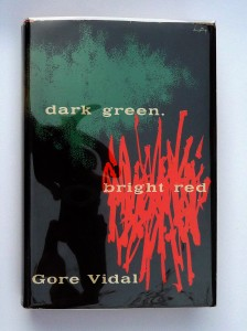 Alvin Lustig - Gore Vidal cover