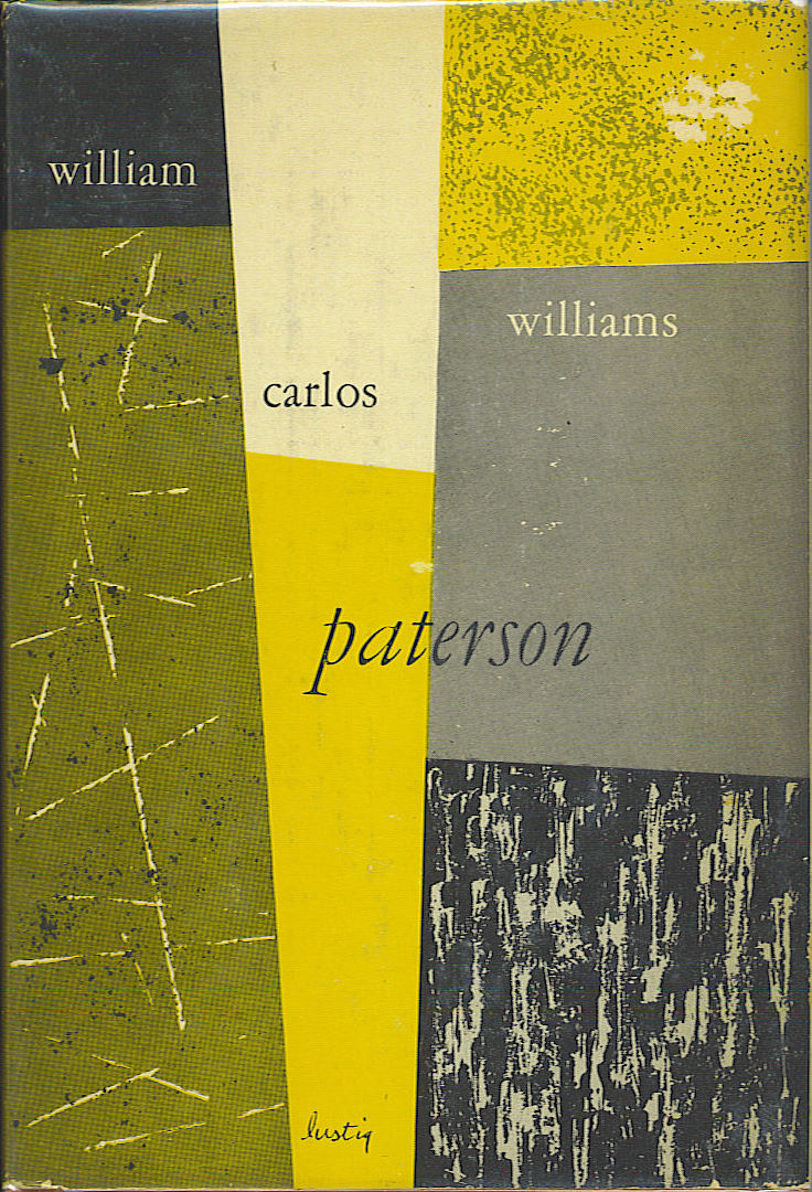 "Alvin Lustig - Copertina per ""Paterson"" di William Carlos Williams (ca 1950)"