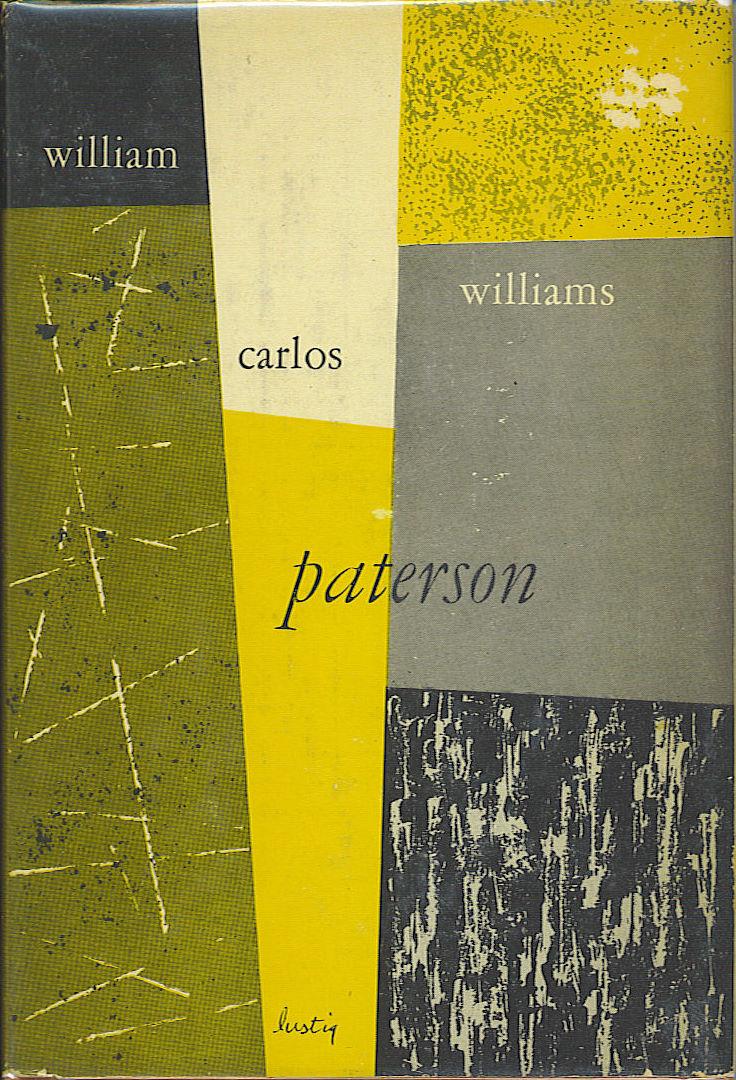 """Alvin Lustig - Copertina per """"Paterson"""" di William Carlos Williams (ca 1950)"""