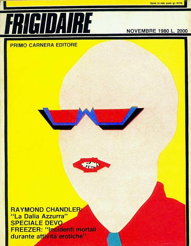 Frigidaire, copertina del n. 1, novembre 1980, di Stefano Tamburini