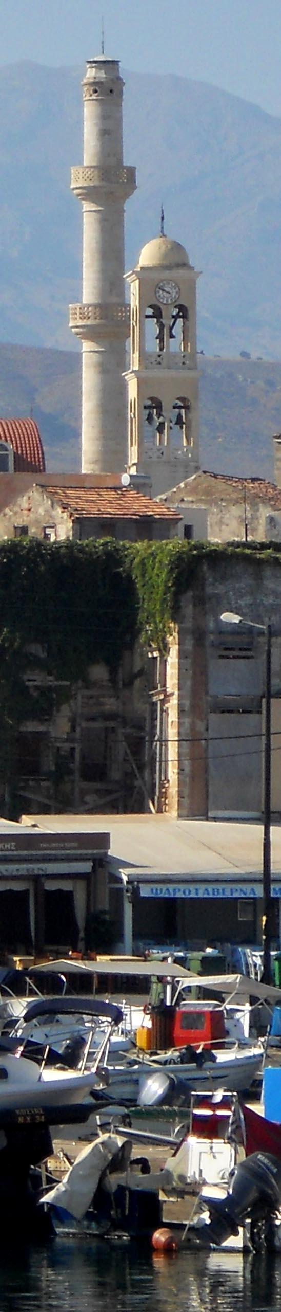 Il campanile, il minareto e le barche