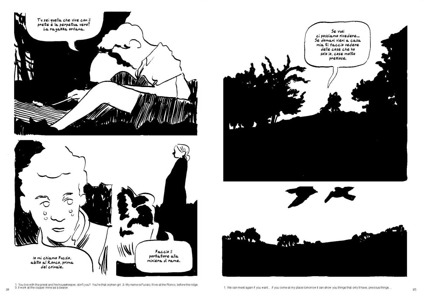 """Marino Neri, """"La coda del lupo"""", Canicola 2012, pp 24-25"""