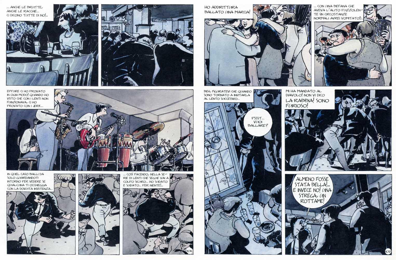 """Baru, """"Quequette Blues"""", pp.112-113 (Coconino 2012, trad. di Francesca Scala)"""