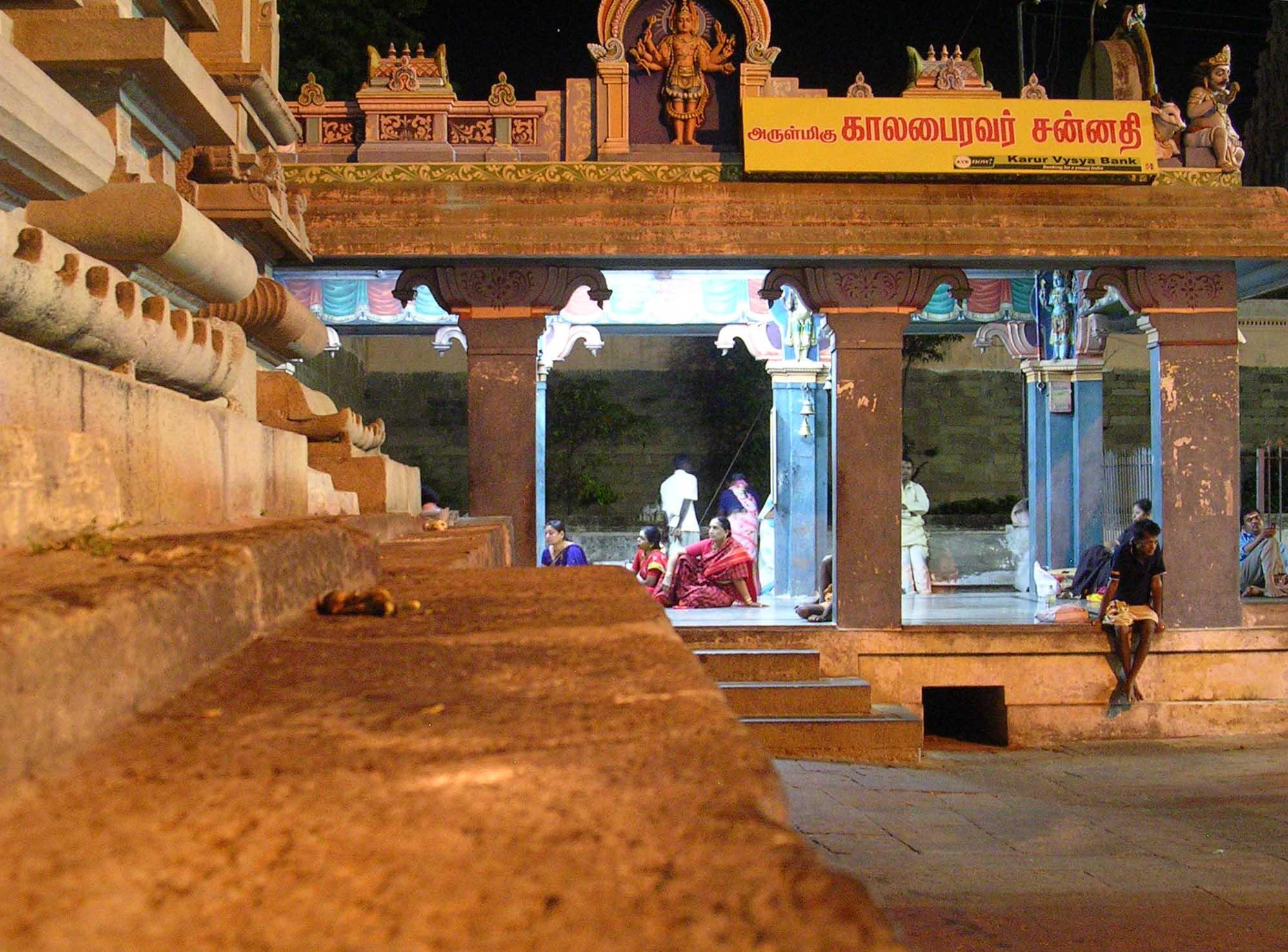 Nel tempio di notte