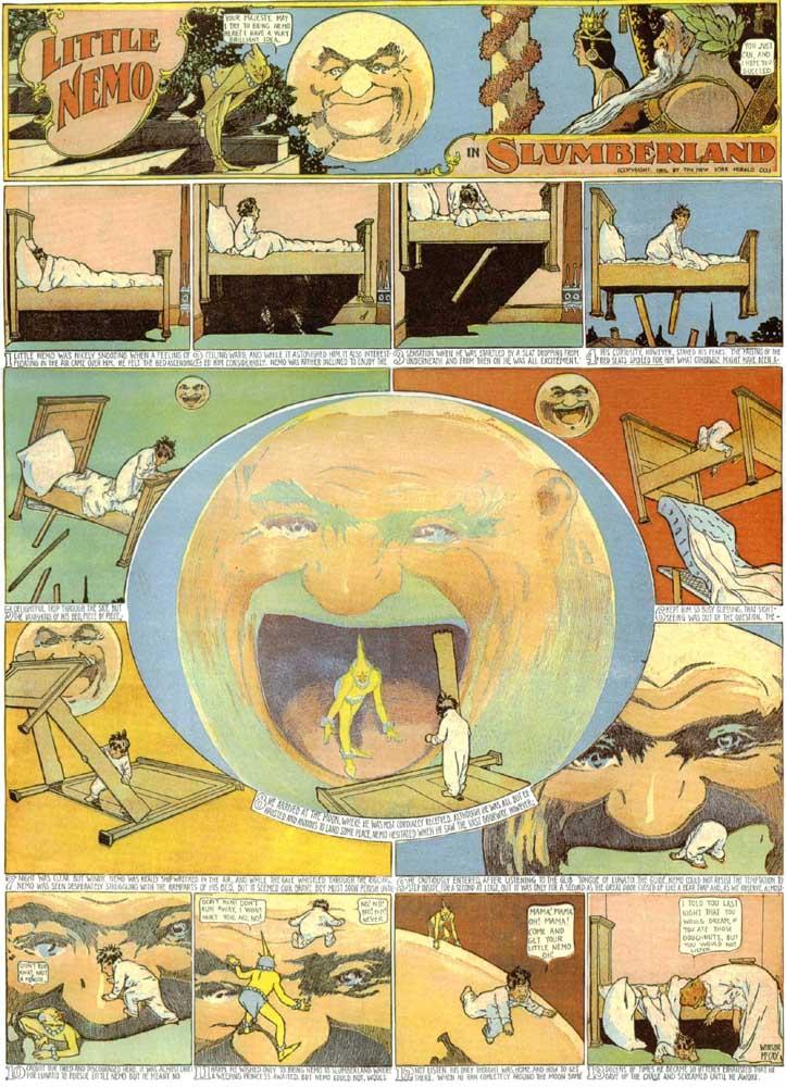 "Winsor McCay, ""Little Nemo"", 1905"