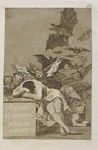 Francisco Goya, El sueño de la razón produce monstruos