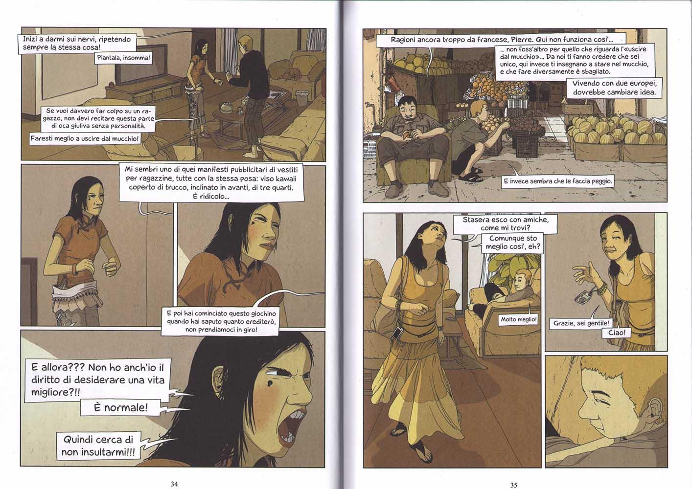 "Saulne, ""Non costa niente"", Coconino 2013, pp. 34-35"