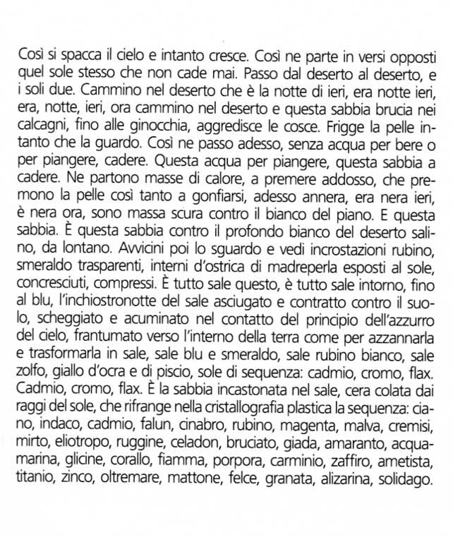 """Andrea Raos, da  """"i cani dello Chott el-Jerid"""", Arcipelago 2010"""