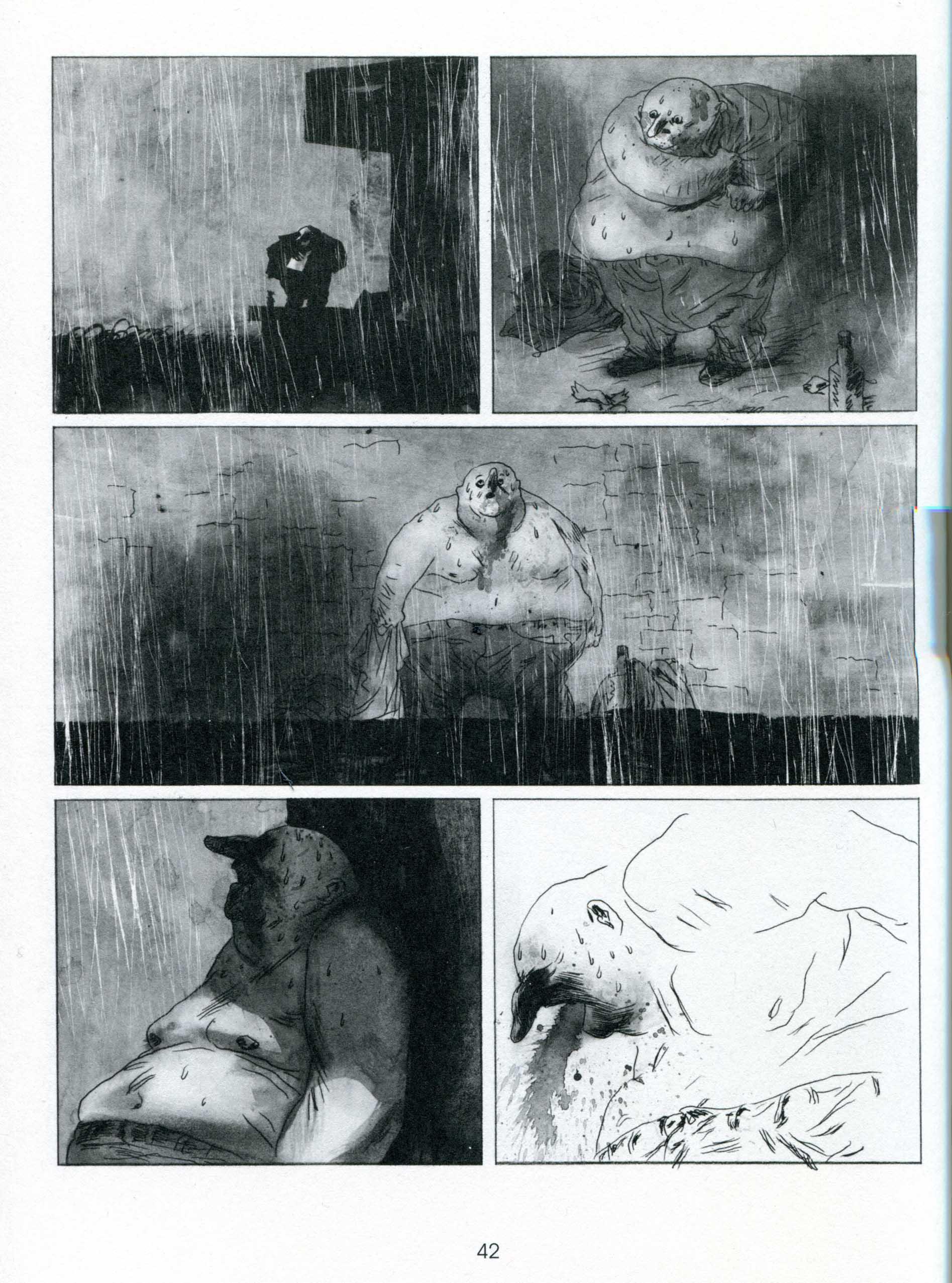 Manu Larcenet, Blast 1, pagina 42