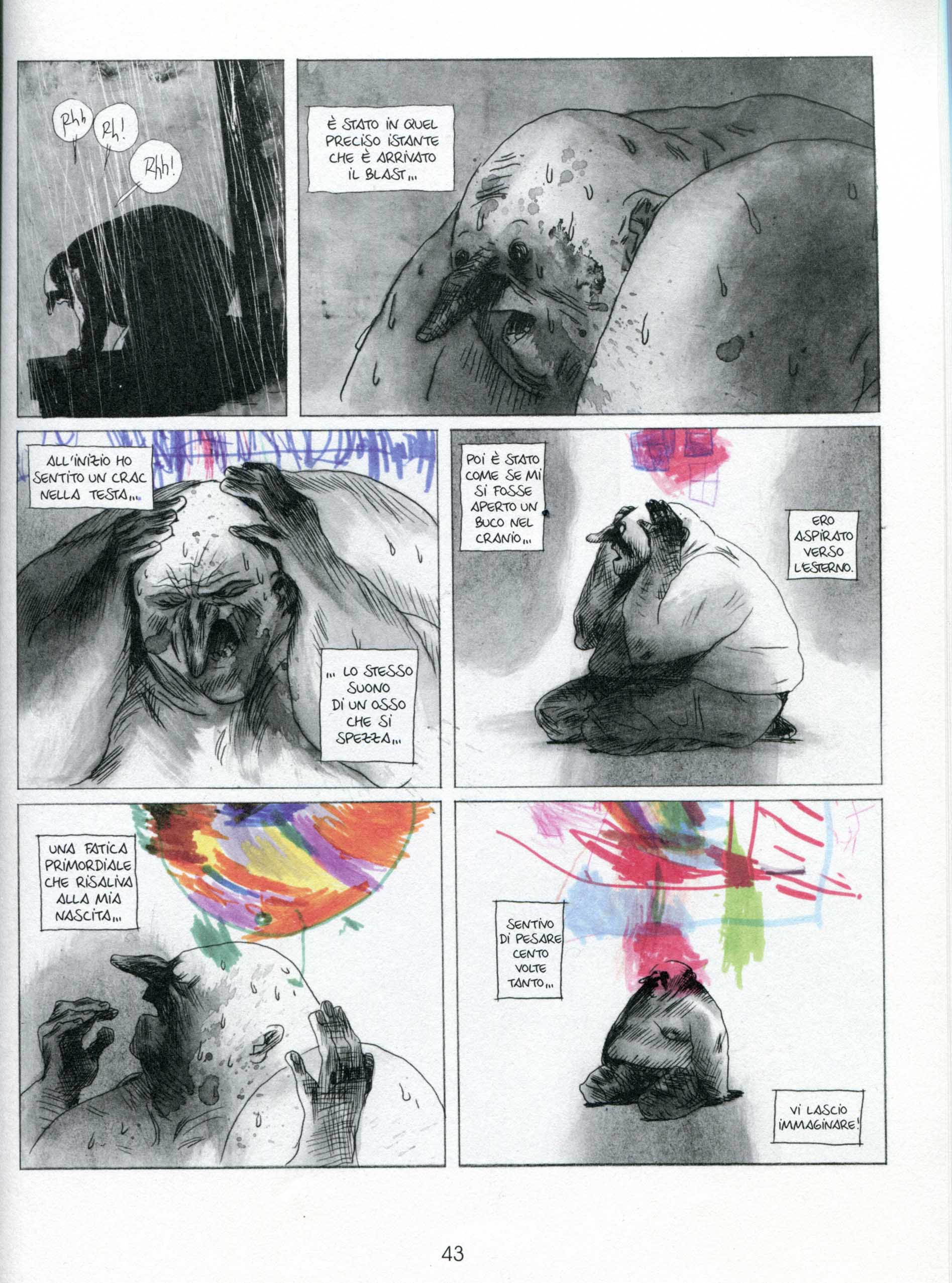Manu Larcenet, Blast 1, pagina 43