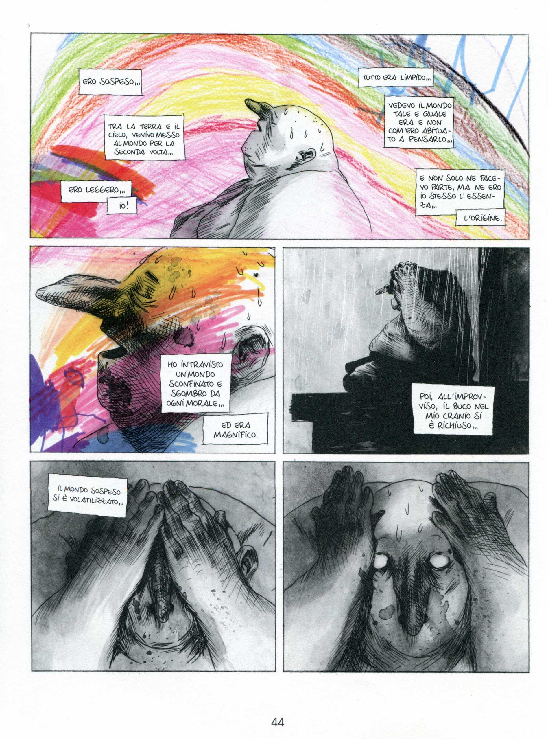 Manu Larcenet, Blast 1, pagina 44