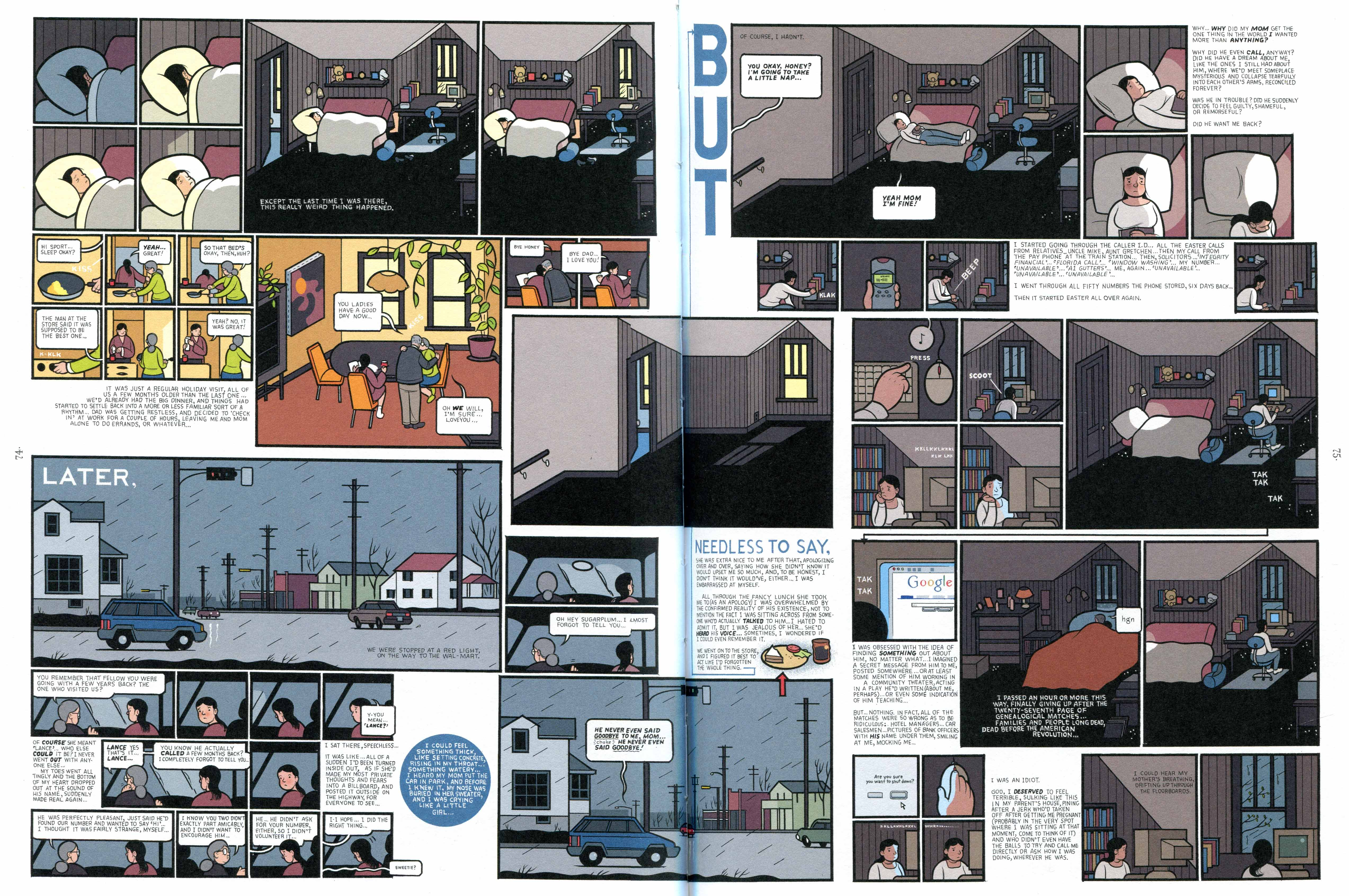 Chris Ware, da Building Stories